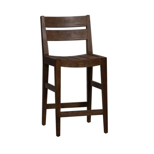 Slat Back Counter Height Chair (RTA)