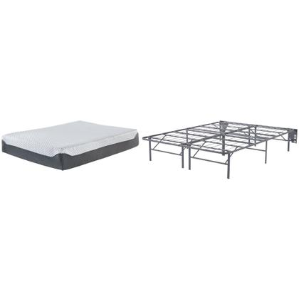 See Details - 12 Inch Chime Elite Queen Foundation With Mattress
