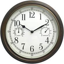 """12"""" Indoor/Outdoor Wall Clock"""