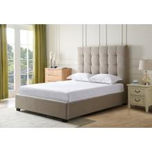 Paramount Khaki - Queen Size Bed