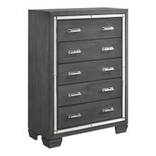 Titanium 5-Drawer Chest