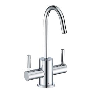 Point of Use Instant Hot/Cold Water Drinking Faucet with Gooseneck Swivel Spout Product Image