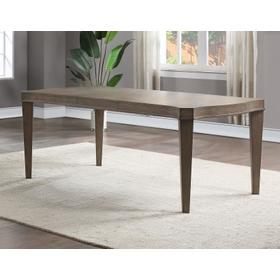 """Bordeaux 78-inch Dining Table w/18"""" Leaf"""