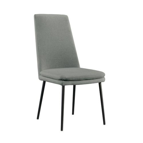 Modern Upholstered Dining Chair in Glacier (2pc)