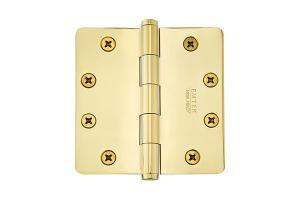"4-1/2"" x 4-1/2"", 1/4"" Radius Corners Heavy Duty Plain Bearing, Solid Brass Product Image"