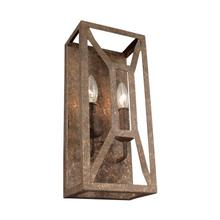 Marquelle 2 - Light Wall Sconce Distressed Goldleaf