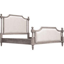 See Details - Grey Summit Bed, Queen headboard