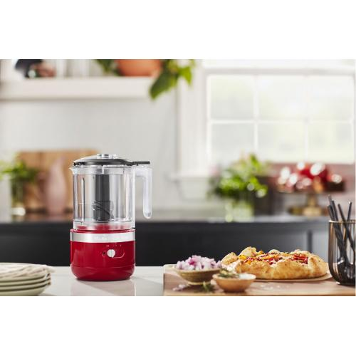 Cordless 5 Cup Food Chopper - Empire Red