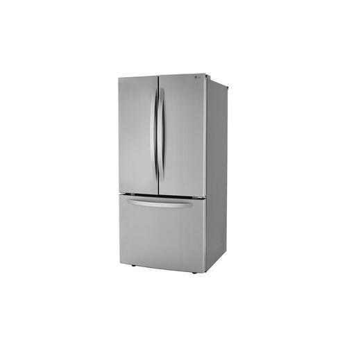 LG - 25 cu. ft. French Door Refrigerator