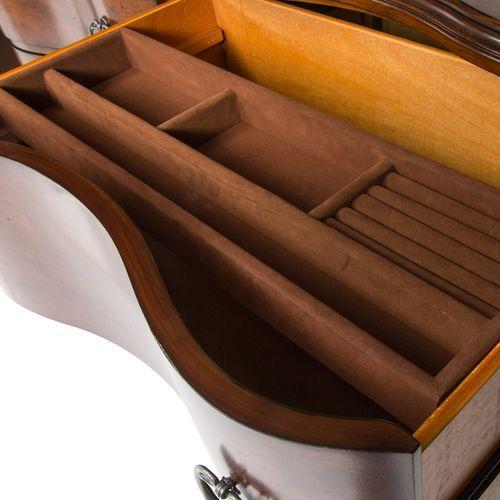 Liberty Furniture Industries - King California Sleigh Bed, Dresser & Mirror, Chest