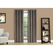 """See Details - CURTAIN PANEL - 2PCS / 52""""W X 95""""H TAUPE ROOM DARKENING"""
