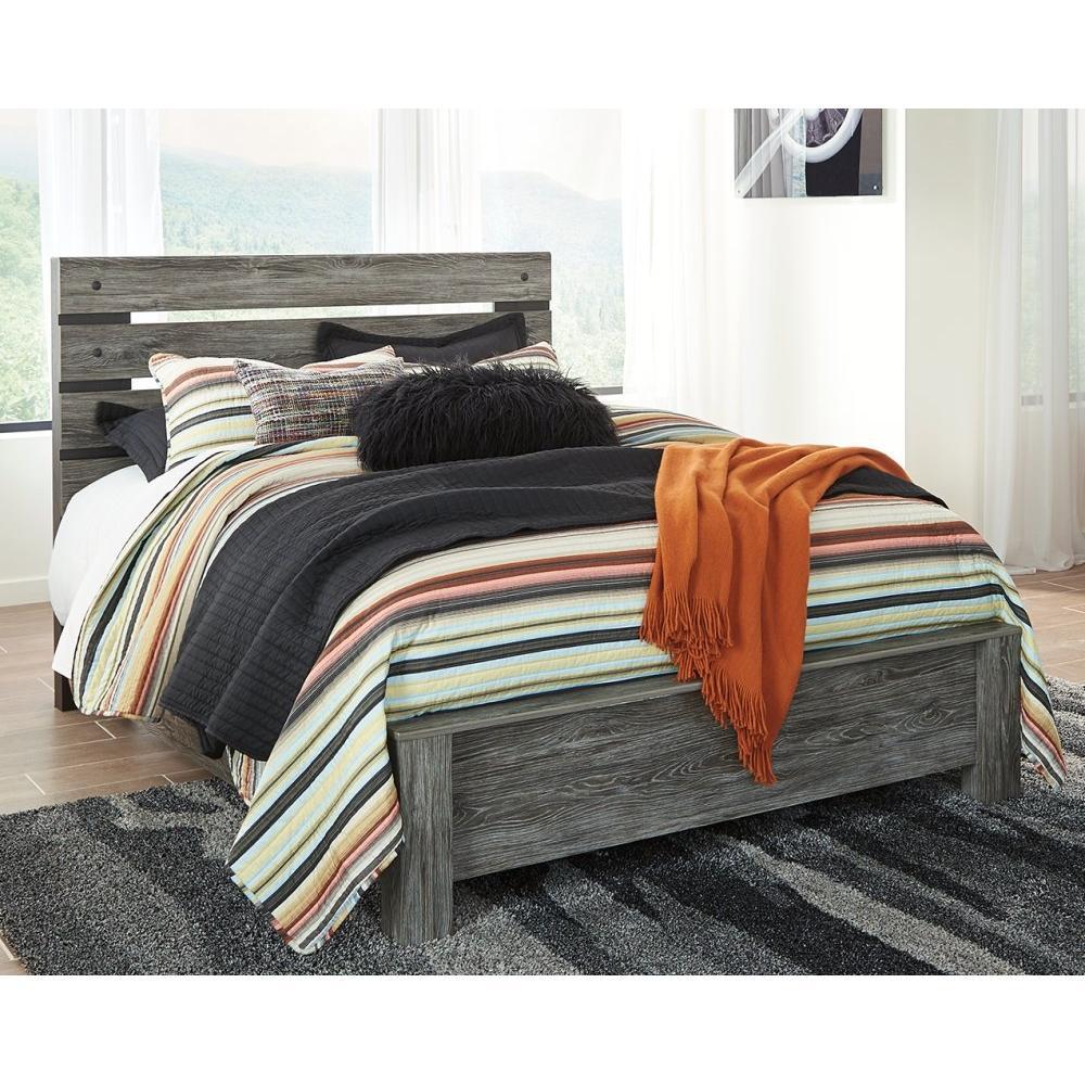 Cazenfeld Queen Panel Bed