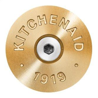 KitchenAid™ Commercial-Style Range Handle Medallion Kit, New Gold - Other