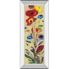 """Wildflower I"" By Jennifer Zybala Mirror Framed Print Wall Art"