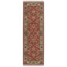 Ashara Agra Red Runner 2ft 6in x 8ft
