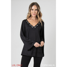 Feeling Fierce Ball and Chain Solid Top - L/XL (4 pc. ppk.)