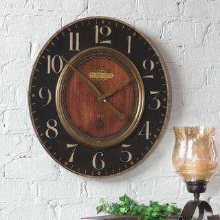 "See Details - Alexandre Martinot 23"" Wall Clock"