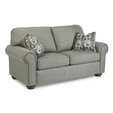 View Product - Presley Fabric Loveseat with Nailhead Trim