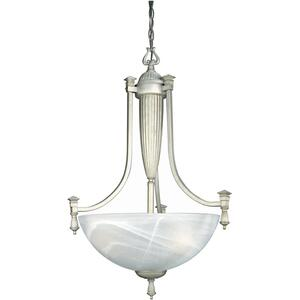Ceiling Lamp, W/cloud Glass Shade, 60wx3/a or G Type