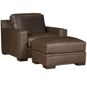 California Chair & 1/2, California Ottoman