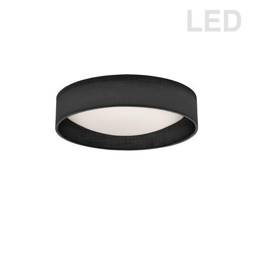 "Product Image - 11"" Flush Mount, Bk/clr Shade"