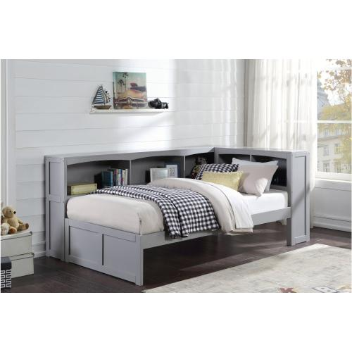 Twin Bookcase Corner Bed