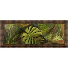 """Green For Ever Il"" By Patricia Pinto Framed Print Wall Art"
