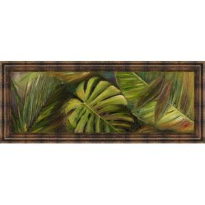 """""""Green For Ever Il"""" By Patricia Pinto Framed Print Wall Art"""