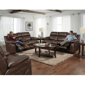 Positano Genuine Leather Italian Reclining Sofa
