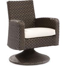 Leeward Swivel Dining Arm Chair