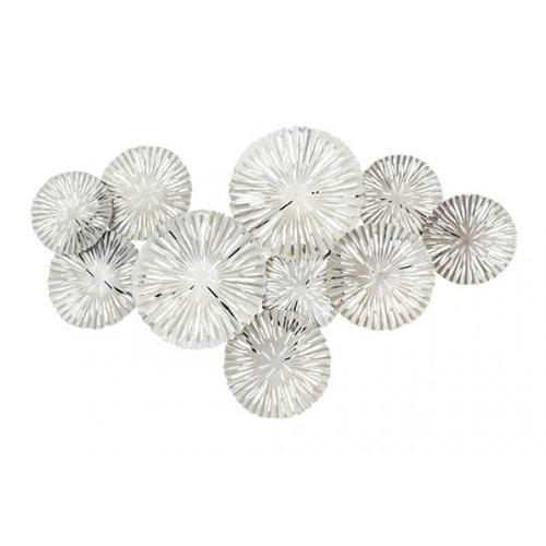 Classy Art - MH1061B  Silver Circles