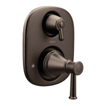 Belfield oil rubbed bronze moentrol® with transfer valve trim