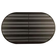 "Tri-Slat 42"" x 72"" Racetrack Oval Top"