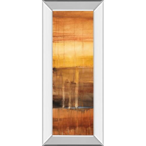 """Classy Art - """"Autumn Glows I"""" By Lanie Loreth Mirror Framed Print Wall Art"""