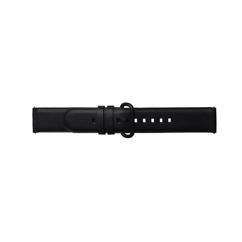 Braloba Active Leather Band (20mm) Black