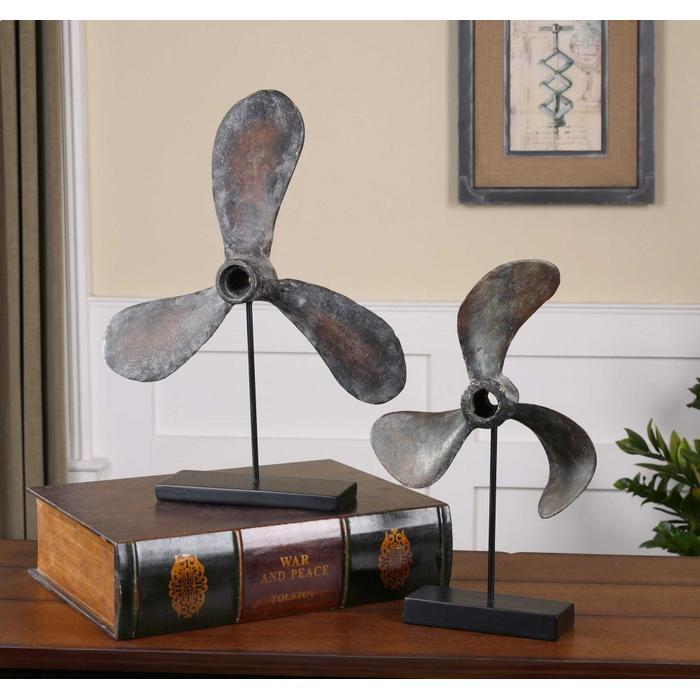 Uttermost - Propellers Sculpture, S/2