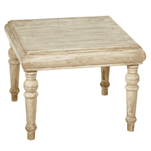 Distressed Ivory & Grey Coffee Table