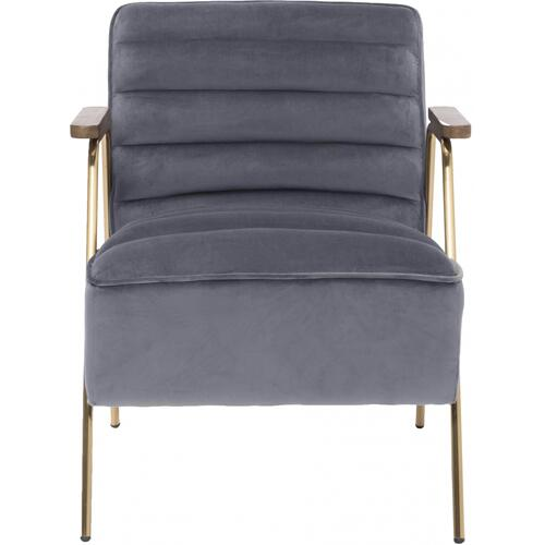 "Woodford Velvet Accent Chair - 24"" W x 30.5"" D x 29"" H"