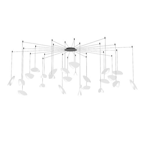 Sonneman - A Way of Light - Papillons LED Pendant [Size=24-Light Swag, Color/Finish=Satin White Shade]