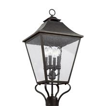 Galena Large Post Lantern Sable