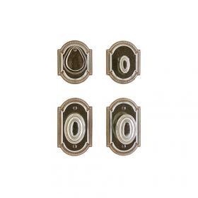 "Ellis Entry Set - 3"" x 5"" White Bronze Medium"