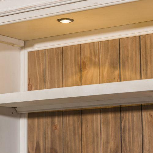 Liberty Furniture Industries - Entertainment Center with Piers