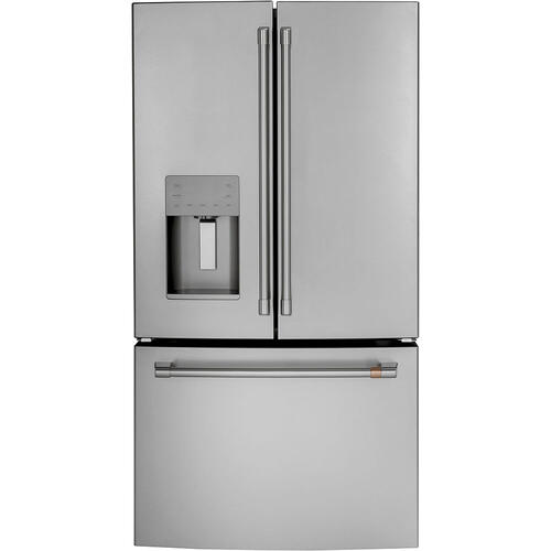 Café 25.6 Cu. Ft. French-Door Refrigerator Stainless Steel