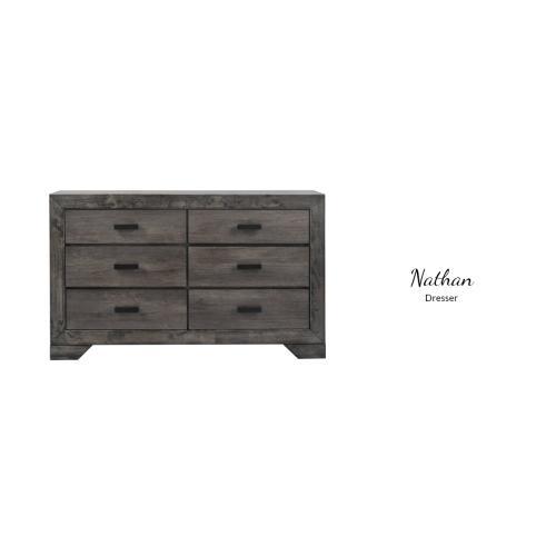 Gallery - 3PC Queen Bed, Dresser/Mirror