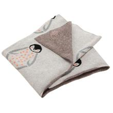 See Details - Ozzie Throw - Grey / Coral
