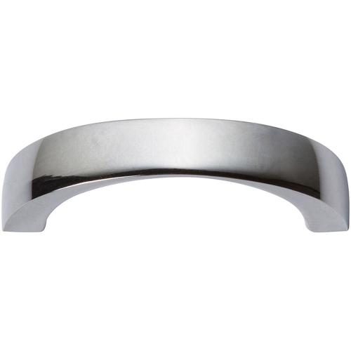 Tableau Curved Pull 1 13/16 Inch (c-c) - Polished Chrome