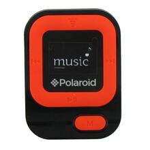 See Details - Polaroid 4GB MP3 Music Player with LCD Display, Orange - PMP85OR