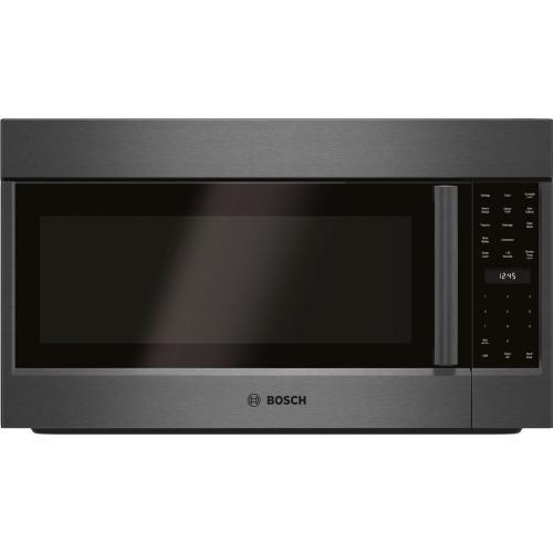800 Series Over-The-Range Microwave 30'' Black Stainless Steel, Left SideOpening Door HMV8044U