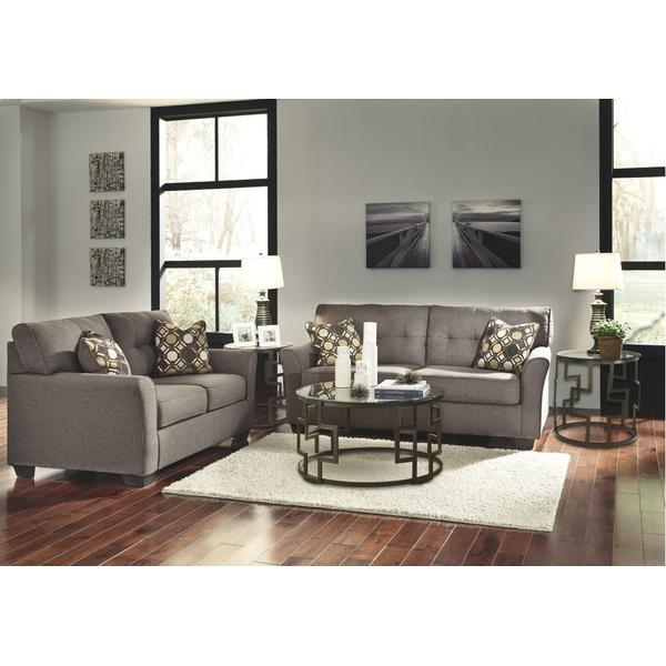 See Details - Sofa and Loveseat With Coffee Table and 2 End Tables