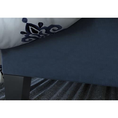 Emerald Home Anchor Bay Upholstered Bed Navy B134-12hbfbr-04